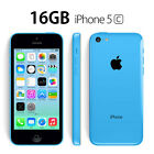iPhone 5c 16GB Blue White in Excellent Condition Refurbished Unlocked Phone i5c