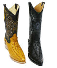 Mens Genuine Leather Crocodile Print 2X Toe Western Boots Style Carr 2xcoco