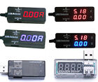USB Charger Detective LCD Current Voltage Detector Meter Battery Capacity Tester