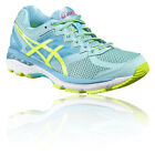 Asics GT-2000 4 Womens Yellow Blue Support Running Sports Shoes Trainers