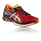 Asics Gel Kinsei 6 Mens Red Cushioned Running Road Shoes Trainers Pumps