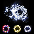 30/40/50 LED 3/4/5 M Waterproof Wire Flexible String Fairy Light + Battery Case