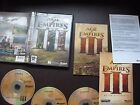 Original PC GAMES -SELECT from- BUNDLE JOBLOT of RARE / COLLECTABLE strategy etc