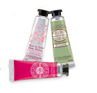 New L'Occitane Hand Cream Shea Butter, Almond, Rose, or Verbena Travel Size!!