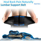 Double Pull Lumbar Lower Back Support Belt Brace Pain Relief Body shape New HT