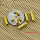 5-100x M3-M6 Solid Brass Grub Screw Cup Point Hex Socket Set Screws GB/T
