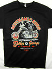 Mechanic Shop Chopper Bobber Los Angeles tee shirt men's black choose your size