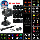 Christmas Projector Lamp 12 Replaceable Lens LED Colorful Night Light Spotlight