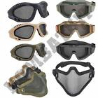 Airsoft Goggles Wire Metal Mesh Mask Eye Face Safety Protection Skirmish Sports