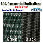 2m Shade Cloth 80% Commercial Grade Shadecloth 280gsm - Cut To Order - POSTED