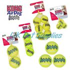 KONG AirDog Squeakair Dog Puppy Squeaky Tennis Ball Throw Fetch Interactive Toy