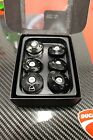 DUCATI MOTORCYCLE MONSTER 821 1200 BILLET FRAME PLUGS BLK 97380111A + FREE DECAL