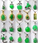 New design charm Various styles green jade PENDANT NECKLACE free shipping