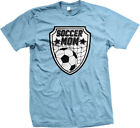 Soccer Mom Ball Mother Net Stars Mommy Parent Child Team Coach My Men's T-Shirt