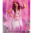 K264 Zombie Nurse Horror Bloody Scary Blood Halloween Womens Fancy Dress Costume