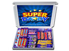 ANY OCCASION SUPER DADDY PERSONALISED RETRO SWEETS OR CHOCOLATE GIFT HAMPERS *
