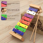 Wooden Xylophone for Kids Toy Sticks Instrument Children Musical Educational New