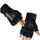 Gym Fitness Training Weight Lifting Dumbbell Sports Working Half Finger Gloves