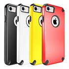 Shockproof Hard Plastic with Soft Rubber TPE Case Cover for iPhone 7/7Plus