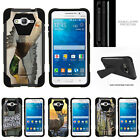 For Samsung Galaxy Grand Prime G530 Bumper Case Stand Hunting