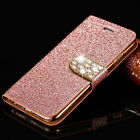 Glitter Leather Wallet Card Pocket Stand Case Cover for iPhone 6s 7 7 Plus Shell