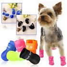 HOT Cat Dog Rain Boots Protective Waterproof Pet Shoes For Small Dog Size S/M/L