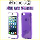 NEW iPhone 5C S Line Sline TPU Case Cover Rubber Silicone FREE FAST SHIPPING NEW