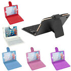 Leather Case Cover With Built-in Bluetooth Wireless Keyboard For Ipad Mini 2/3/4