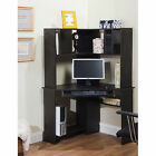 Corner Computer Desk w Hutch workstation student bookcase home office wood NEW