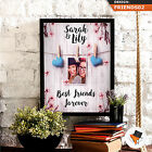 FULLY PERSONALISED BEST FRIEND FOREVER PHOTO GIFT HIGH QUALITY UNIQUE CUSTOM