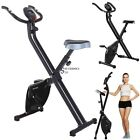 Folding Magnetic Upright Exercise Bike For Home Workout Fitness Equipment 220LBS