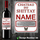 WINE BOTTLE LABEL - PERSONALISED FUNNY BIRTHDAY ALL OCCASIONS CHRISTMAS GIFT