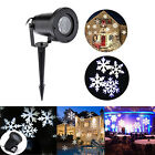 Outdoor Moving Snowflake Christmas Laser Projector Light House Garden Landscape