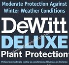 DeWitt Deluxe 7' Wide X Any Length .5oz Frost Freeze Plant & Seed Guard Blanket