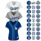 2016 Los Angeles Dodgers Striking Official Home & Away Cool Base Jersey Women's