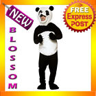 C503 Mens Panda Jungle Animal Funny Halloween Fancy Dress Party Costume Outfit