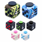 Fun Fidget Cubes 6 Sided Cube Adult Anxiety Stress Relief Cube Toys Xmas Gift UK
