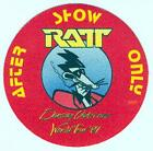 RATT 1987 DANCING UNDERCOVER TOUR RED AFTER SHOW ONLY BACKSTAGE PASS