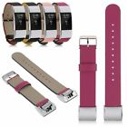 Genuine Leather Watch Band Bracelet Wrist Strap Replacement For Fitbit Charge 2