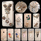Bling Crystals Diamonds TPU Soft Transparent Back Case Cover For Sony