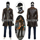 Watch Dogs Aiden Pearce Jacket Sweater Pants Hat Mask Cosplay Costume