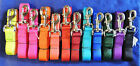 "Внешний вид - 1"" Nylon Dog Leash Lead Nickel Plated Metal Bolt Snap Solid Colors 4' & 6' NWT"