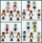 Lots of 5 LEGO FRIENDS EMMA~OLIVIA~STEPHANIE Fashion Girls Mini Figure le1387