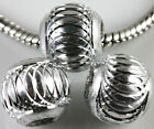 New Mixed Jewlery Lots Aluminum Carved Lantern Spacer Bead Handmade 6/8/10/12 MM