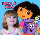 Custom Dora the Explorer T shirt / Item with your Photo! Backpack Map