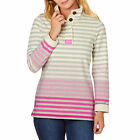 Joules Womens Cowdray Sweatshirt in Ombre Pink - Sizes 8 to 20