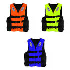 Kids Adult Life Jacket for Swim Kayak Canoe Boat Fishing Vest + Whistle M XL XXL