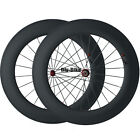 700C 1850g 88mm Clincher Carbon Powerway R13 Hub Wheels Road Bike Race Wheels
