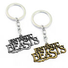 Harry Potter Fantastic Beasts and Where to Find Them Metal Keychain Keyring