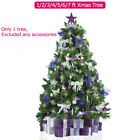 1ft/2ft/3ft/4ft/5ft/6ft/7ft Artificial Christmas Tree + 1* Free Hat US Shipping